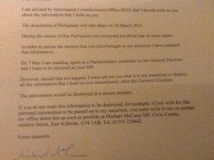 McCann ICO letter